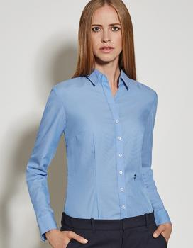 Seidensticker Womens Blouse Slim Fit Longsleeve
