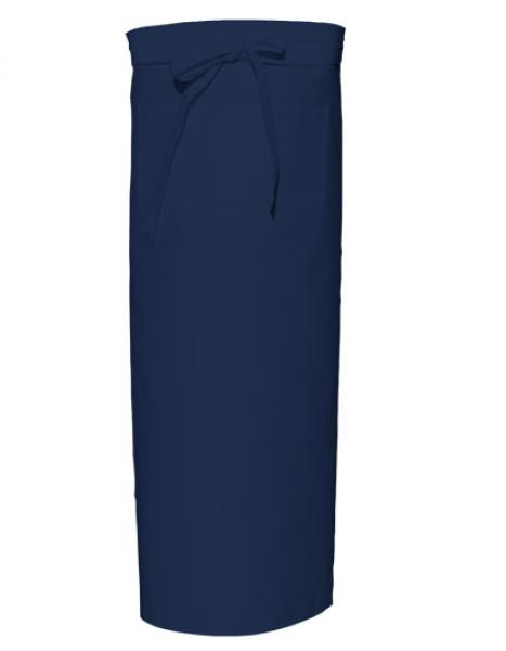 Navy Bistro Apron XL with Front Pocket