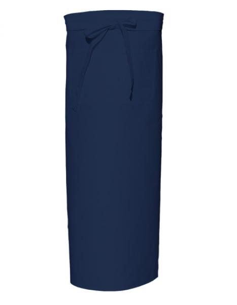 Bistro Apron with Front Pocket Navy