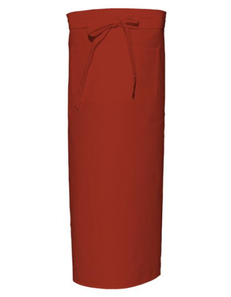 Terracotta Bistro Apron XL with Front Pocket