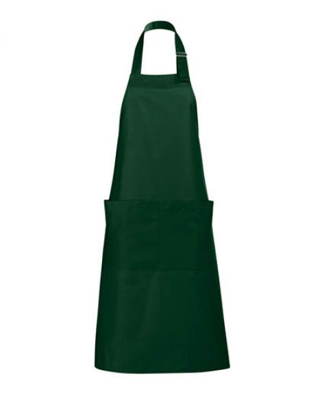 Long Apron Gala Schürze - Bottle Green