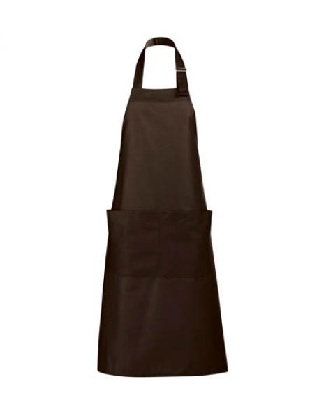 Long Apron Gala Schürze - Chocolate