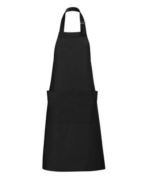 Long Apron Gala Schürze - Deep Black