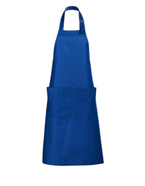 Long Apron Gala Schürze - Royal Blue