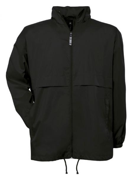 B&C - Air Windbreaker Schwarz