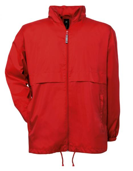 B&C Air Windbreaker Rot