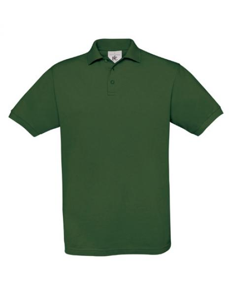 B&C Safran Poloshirt Herren Bottle Green