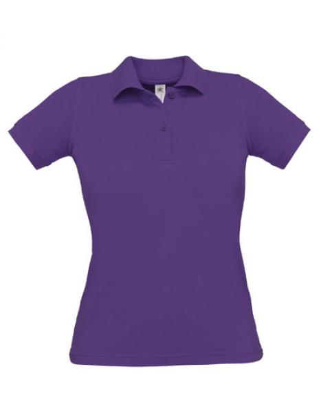 Safran Poloshirt Frauen Purple
