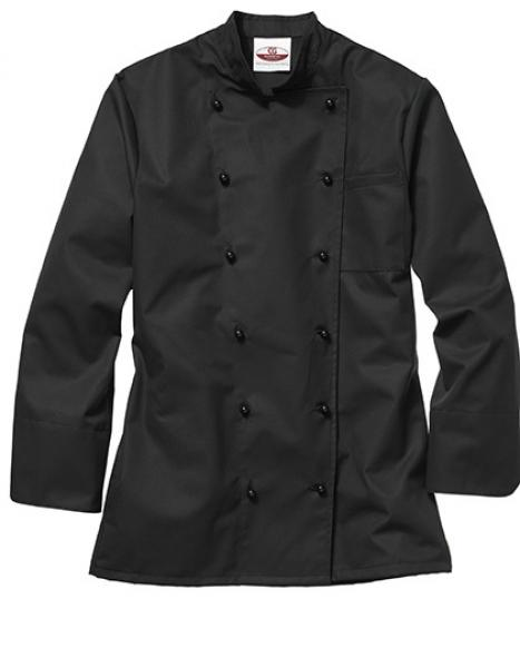 CG Workwear Kochjacke Rimini Man Black