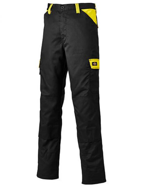 Everyday Workwear Bundhose Black/Yellow