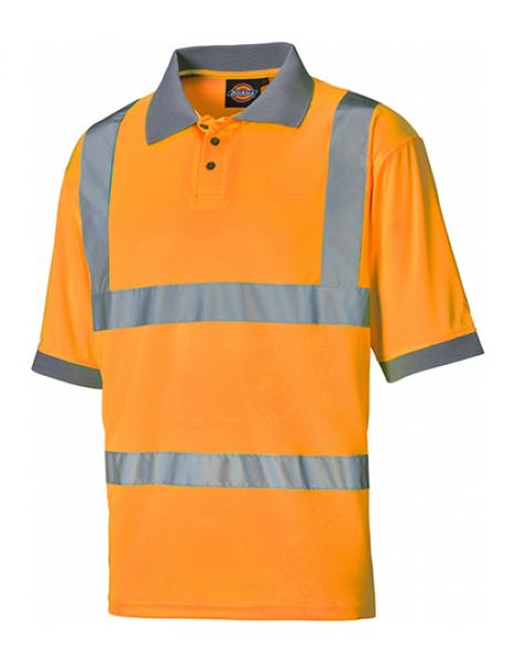 Dickies Hochsichtbares Polo-Shirt Orange