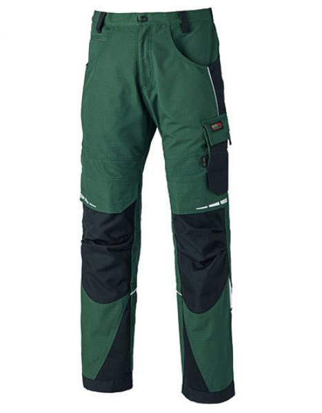 Dickies Pro Bundhose Green/Black