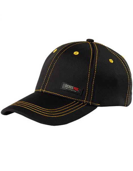 Dickies - Pro Cap Black Yellow