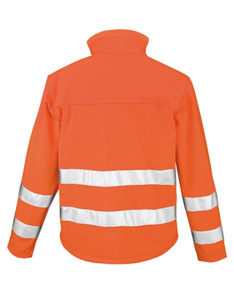 Result High-Viz Soft Shell Jacket hinten