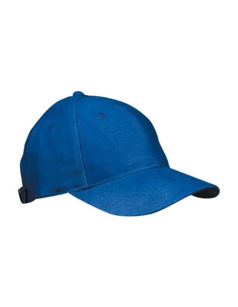 MyrtleBeach - 6-Panel Cap laminiert Royal