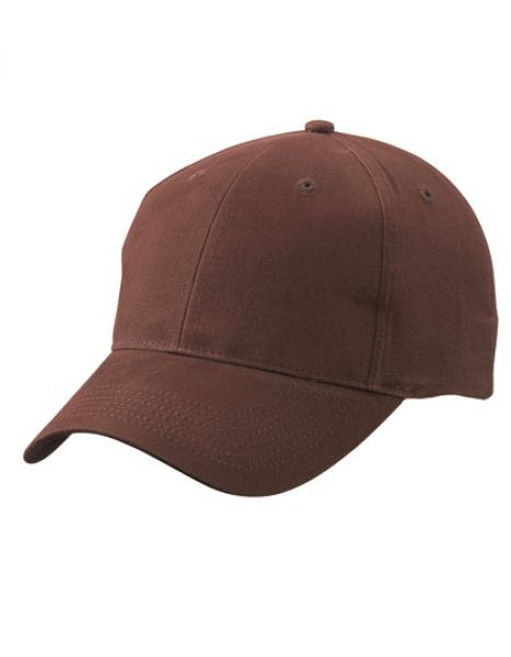 Myrtle Beach - Brushed 6-Panel Cap Brown