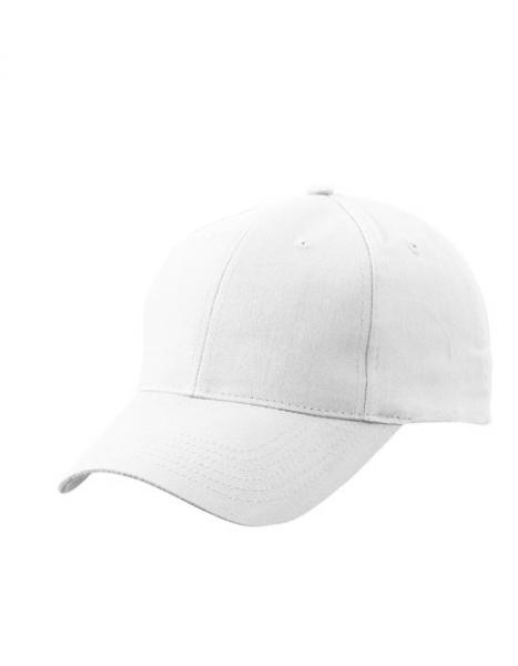 Myrtle Beach - Brushed 6-Panel Cap White