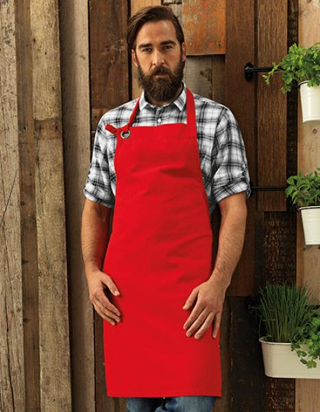 Premier Workwear Calibre Heavy Cotton Canvas Bib Apron