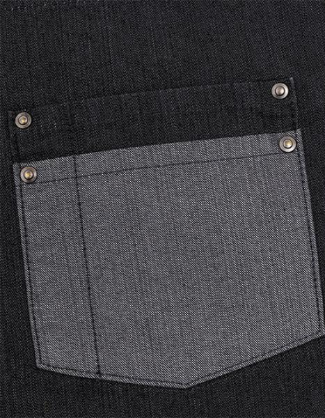 Premier Workwear Domain Contrast Denim Waist Apron Pocket