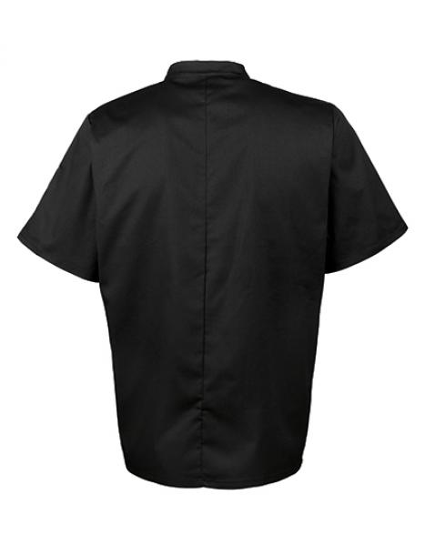 Essential Short Sleeve Chef´s Jacket Hinten