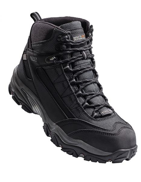 Regatta Causeway S3 Waterproof Safety Hiker Grey/Black