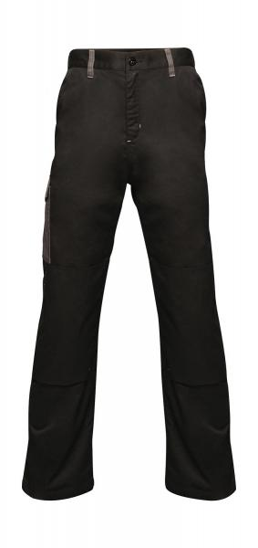 Regatta Strategic Softshell Trousers Black Grey