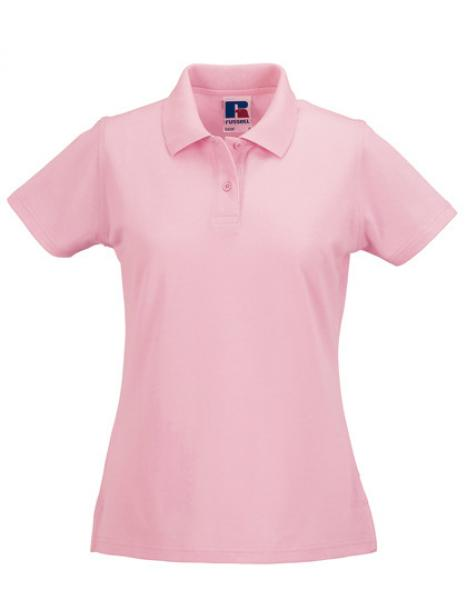 Russell Ladies Classic Cotton Polo Candy Pink