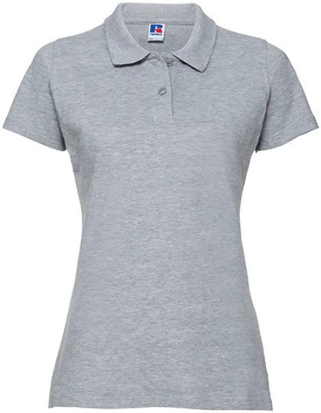 Russell Ladies Classic Cotton Polo Light Oxford