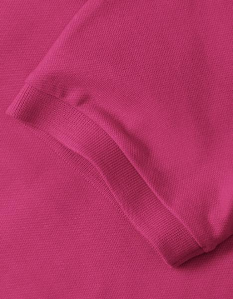 Russell Ladies Stretch Polo Detail