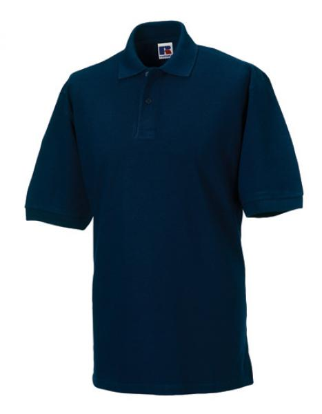 Russell Mens Classic Cotton Polo Navy