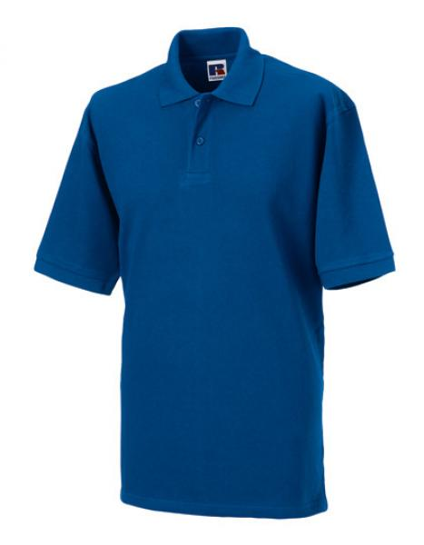 Russell Mens Classic Cotton Polo Royal Blue