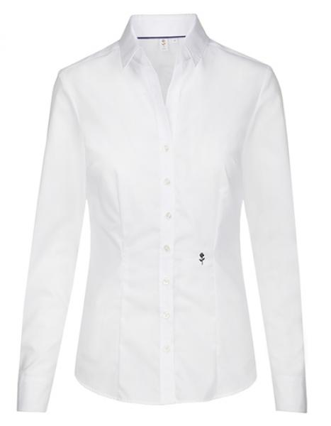 Seidensticker Womens Blouse Slim Fit Longsleeve White